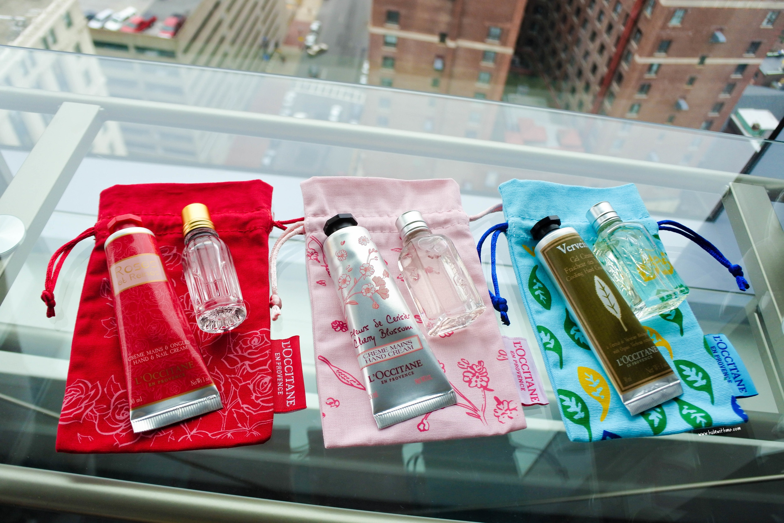 L'Occitane hand creams & fragrances gift collection - Inflight duty free exclusives
