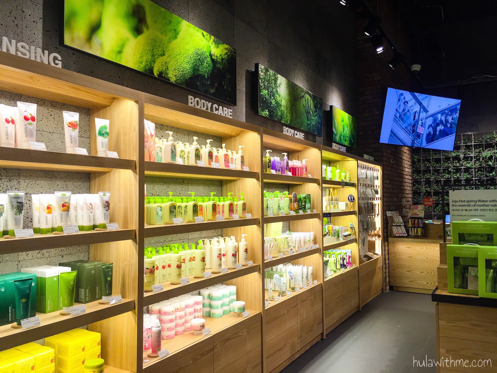 Sharing my 24-Hours Adventure in NYC // Beauty shopping in Korea Town. Shown here: Nature Republic Store on W 32nd Street.