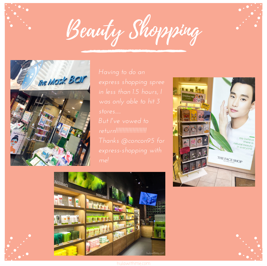 Sharing my 24-Hours Adventure in NYC // Shopping for Korean beauty products in Korea Town.  Having to do an express shopping spree in less than 1.5 hours, I was only able to hit 3 stores.....But I've vowed to return!!!!!!!!!!!!!!!!!!!!!! Thanks @concon95 for express-shopping with me!