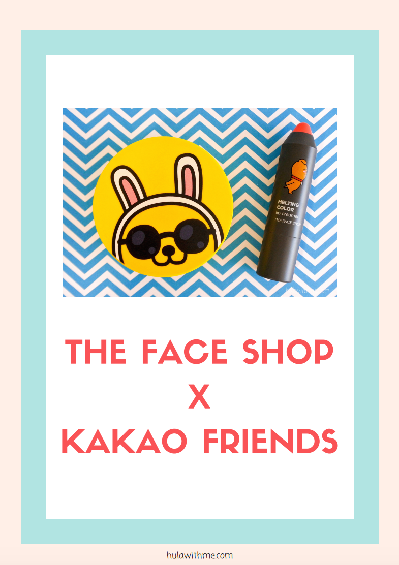 Reviewing The Face Shop x KaKao Friends - Sunscreen Cushion and Lip Creamer.