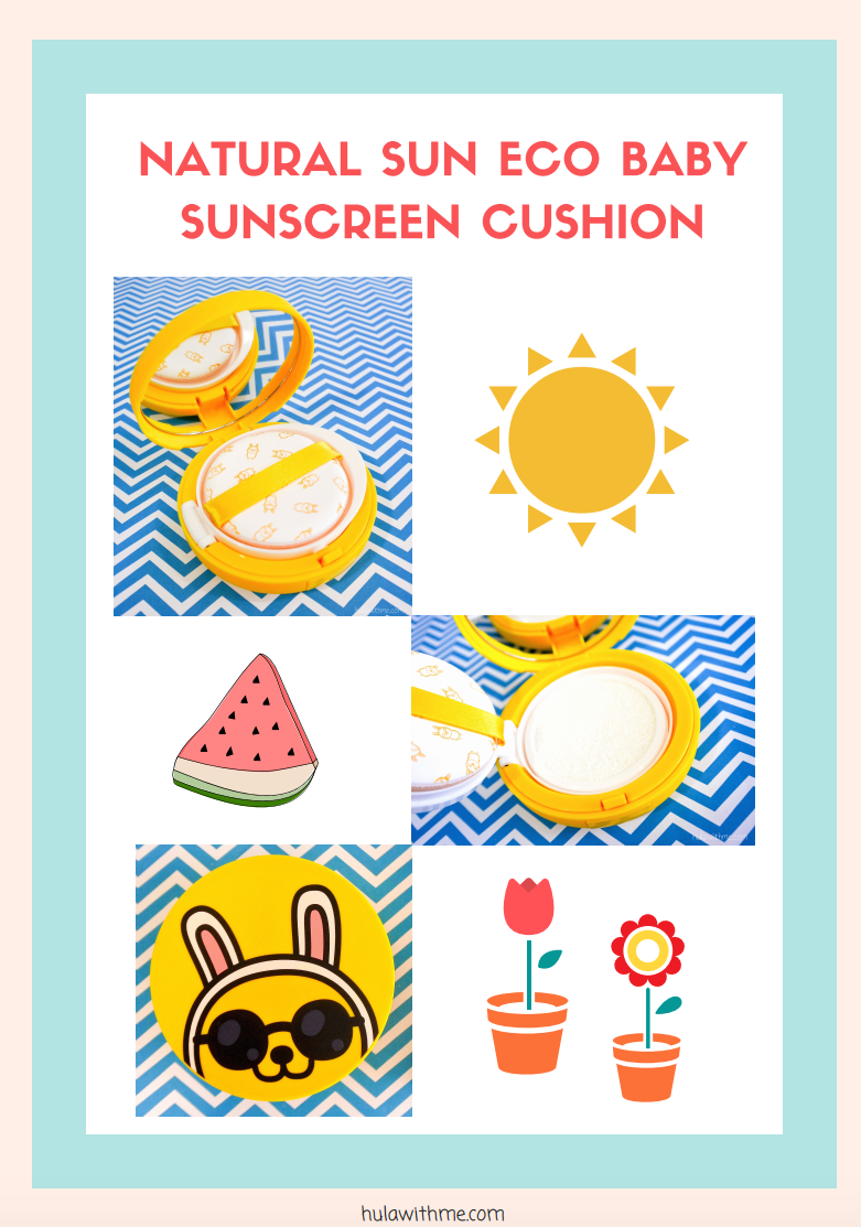 Reviewing The Face Shop x KaKao Friends - Natural Sun Eco Sunscreen Cushion.