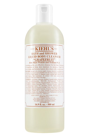 Nordstrom Anniversary Sale Early Access // Kiehl's Jumbo Size Grapefruit Bath & Shower Liquid Body Cleanser