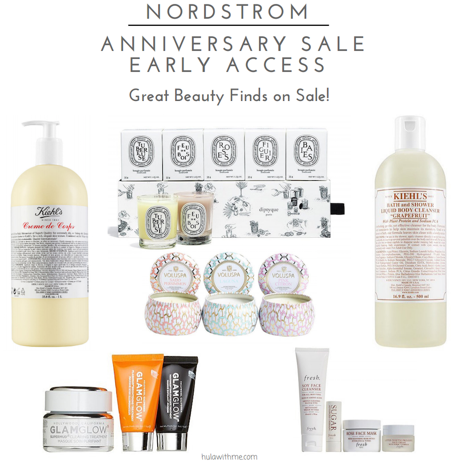 Nordstrom Anniversary Sale Early Access // Sharing my pick of great beauty finds on sale.