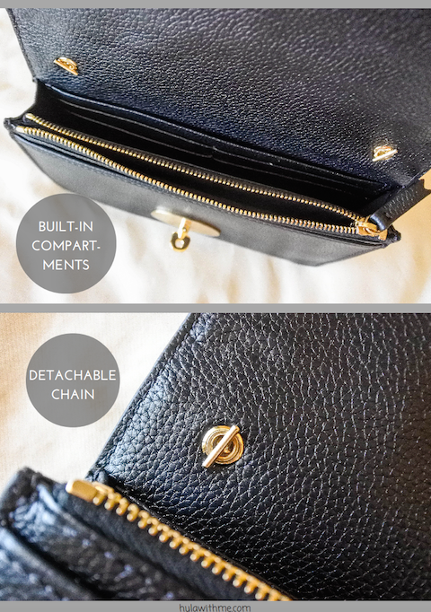 Reviewing the Mulberry Bayswater Clutch in Black.