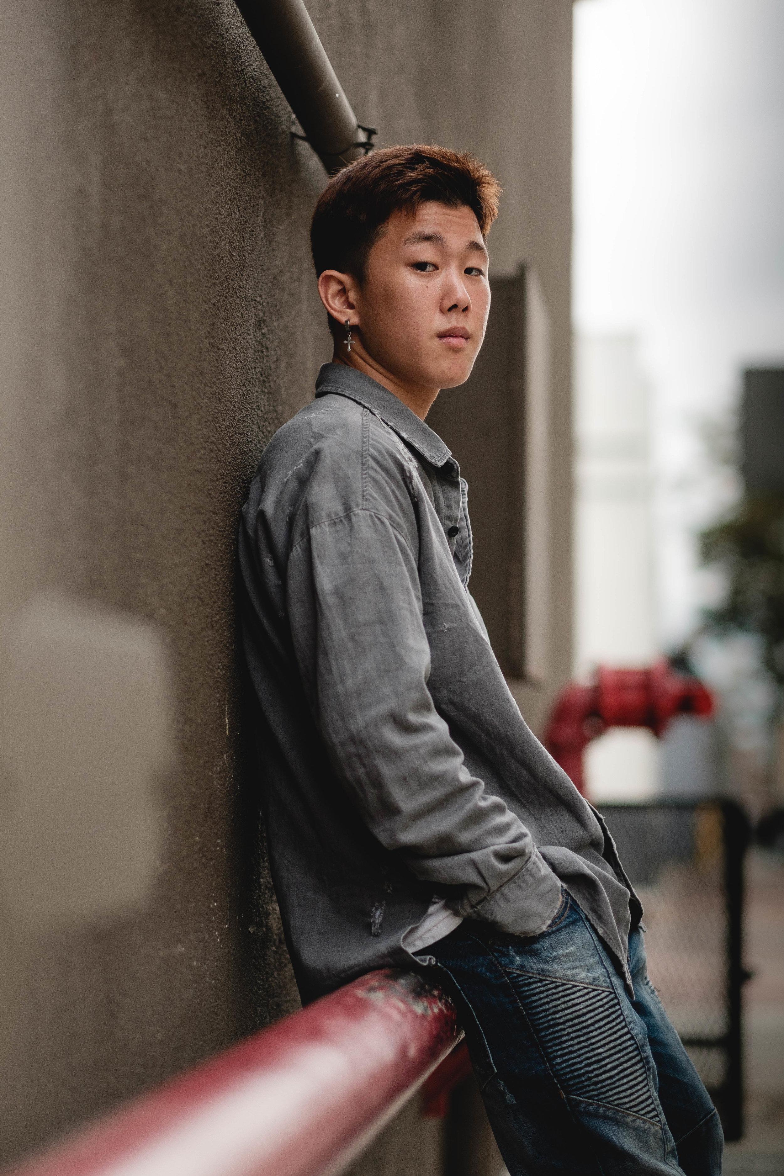 Fullerton Street Portrait Photo shoot
