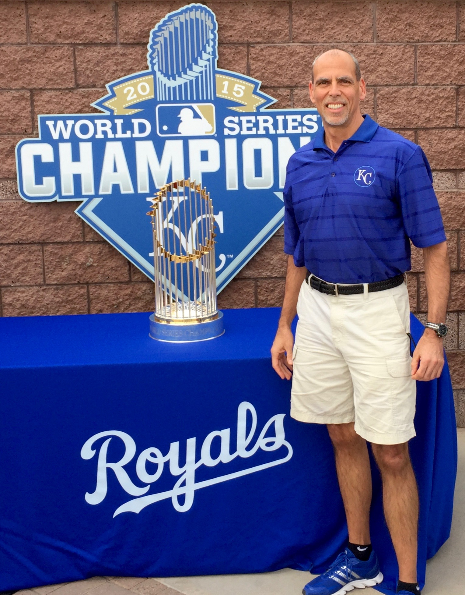2015 World Series championship Trophy