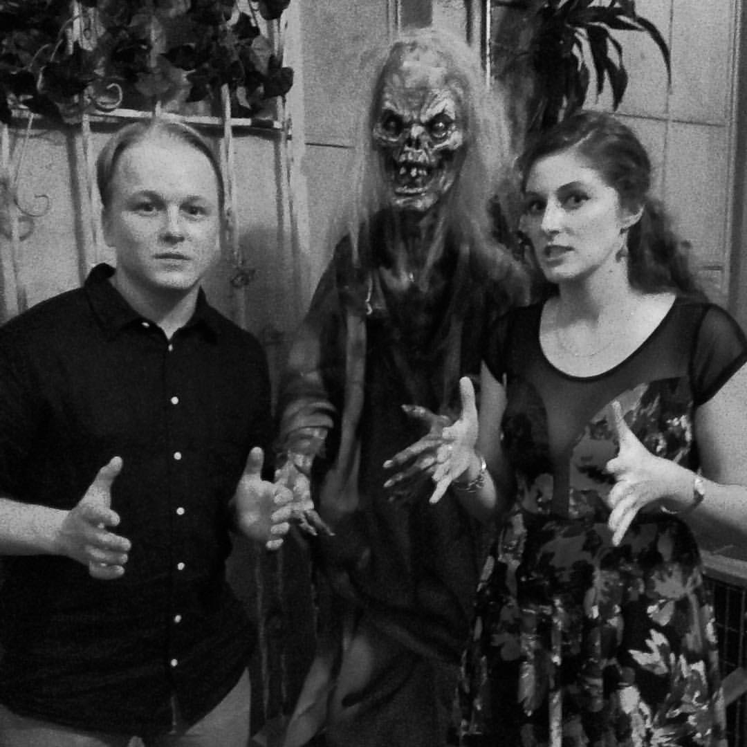 Sean Lee and Dana Brawer get spooky at Shriekfest