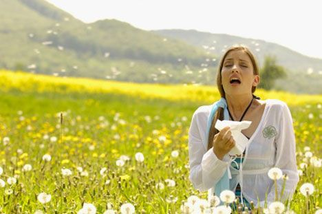 Allergies Stock Photo