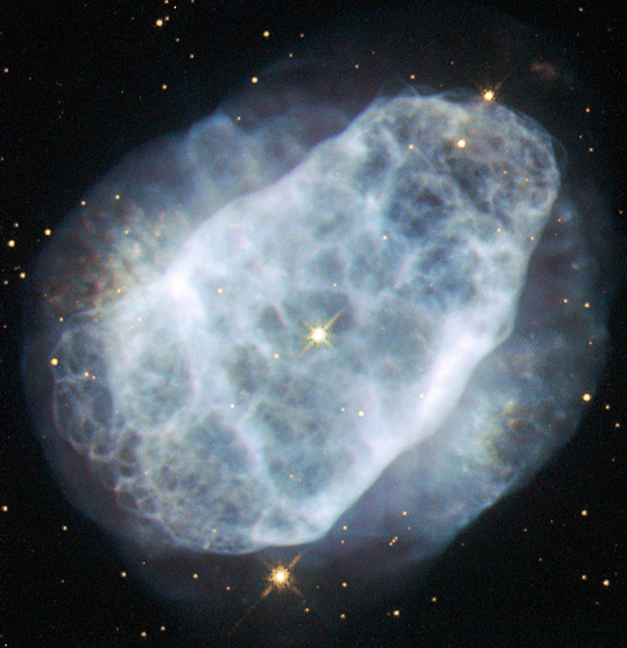 Nitrogen-rich Nebula ~ Hubble