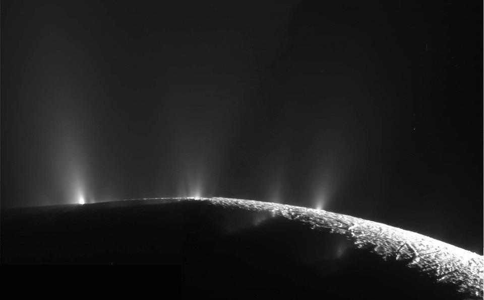 Enceladus Eruptions