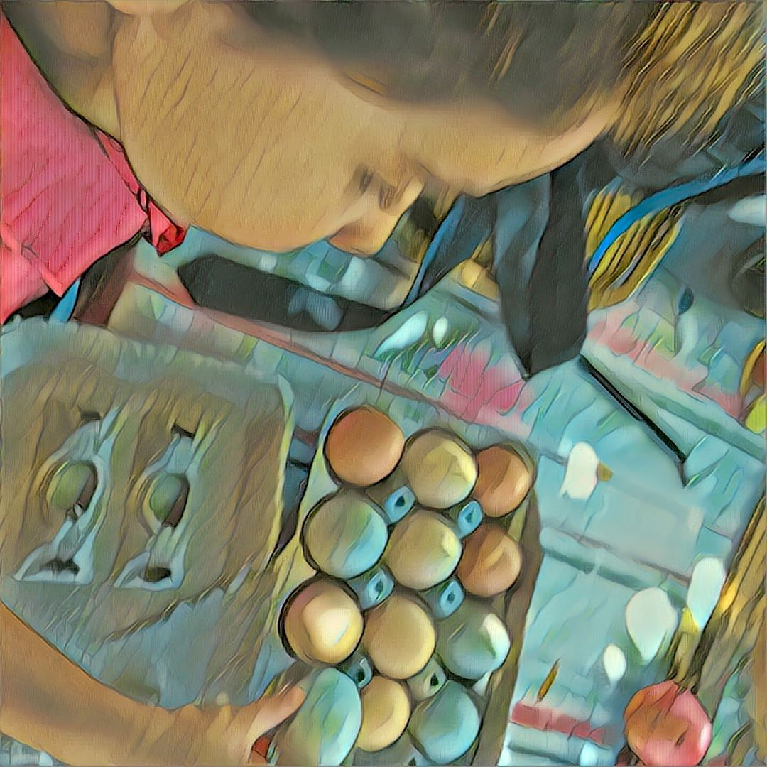 Fresh Eggs ~ JH
