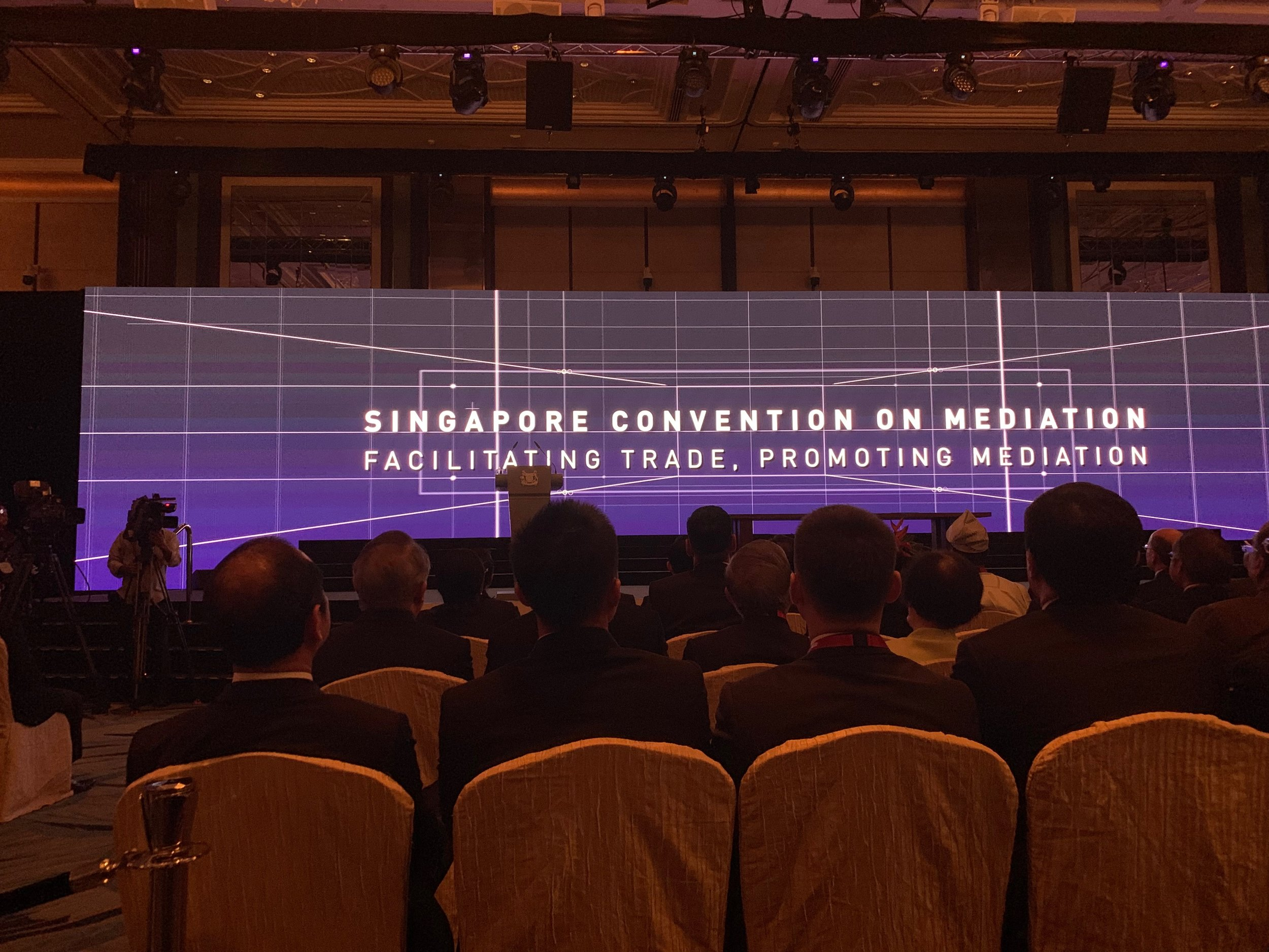 The Singapore Convention on Mediation was signed by 46 countries on 7 August 2019