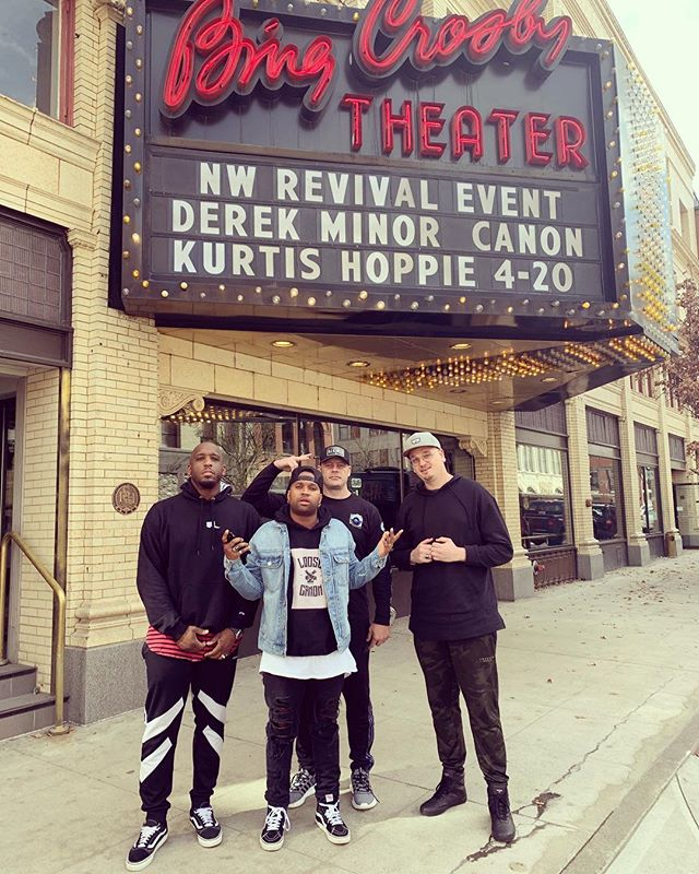 Spokane WA, put us on the marquee! 🙏🏾 @getthecanon @thekurtishoppie @djkinect