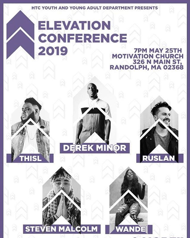 Catch me at Elevation Conference 2019 in #Massachusetts next month! 💪🏾 • 🎟: Elevationconference2019.eventbrite.com