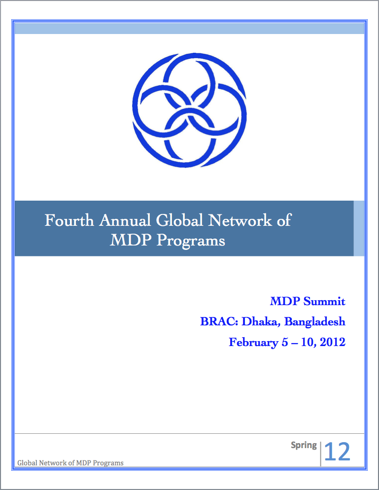 The cover of the brochure
