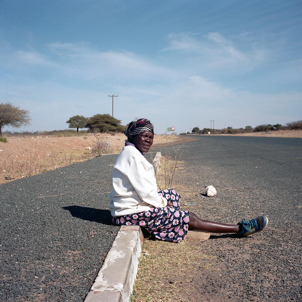 Waiting for Combi, Ghanzi, 2013
