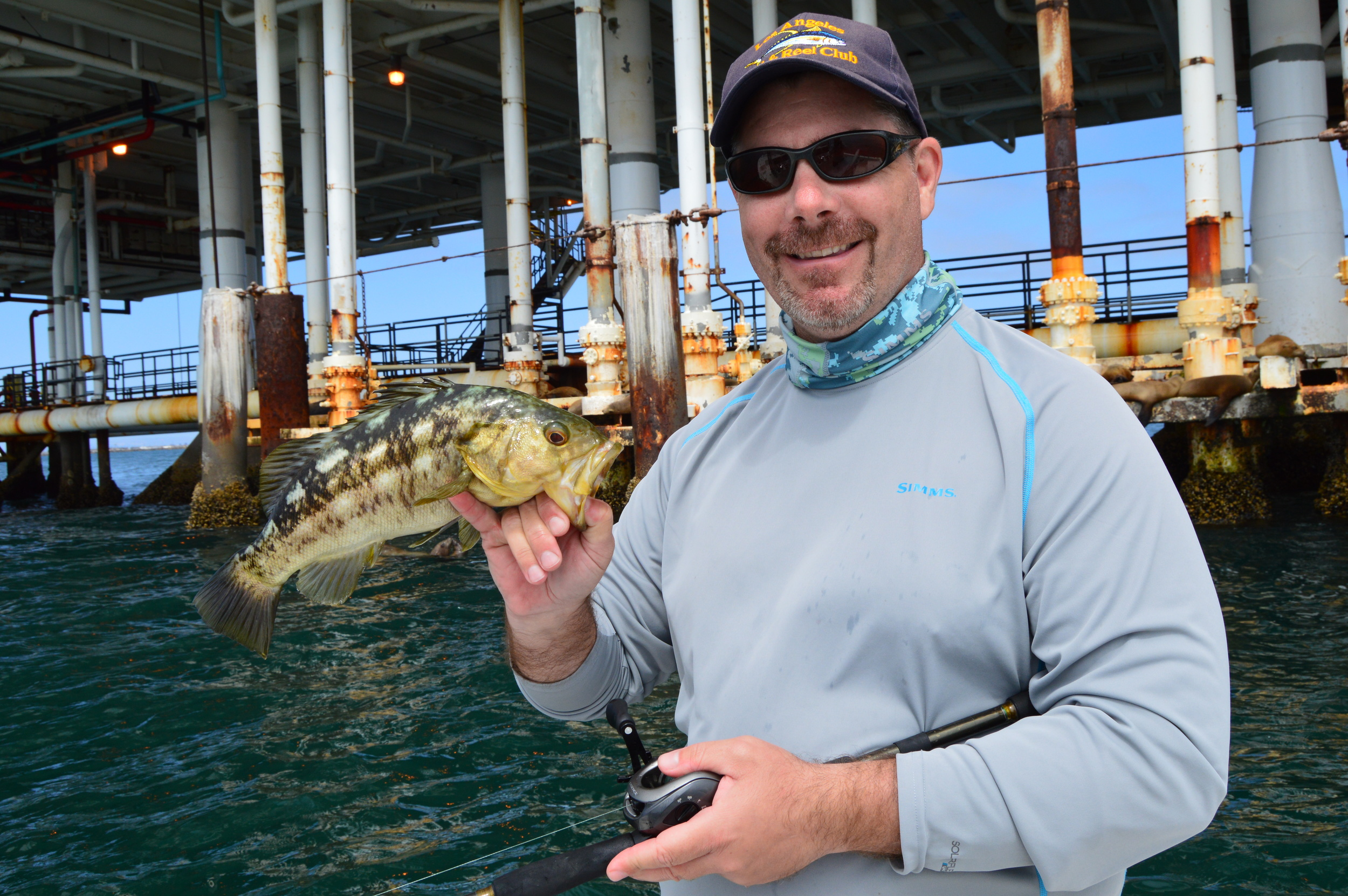Stopped and caught a few Calico Bass also.