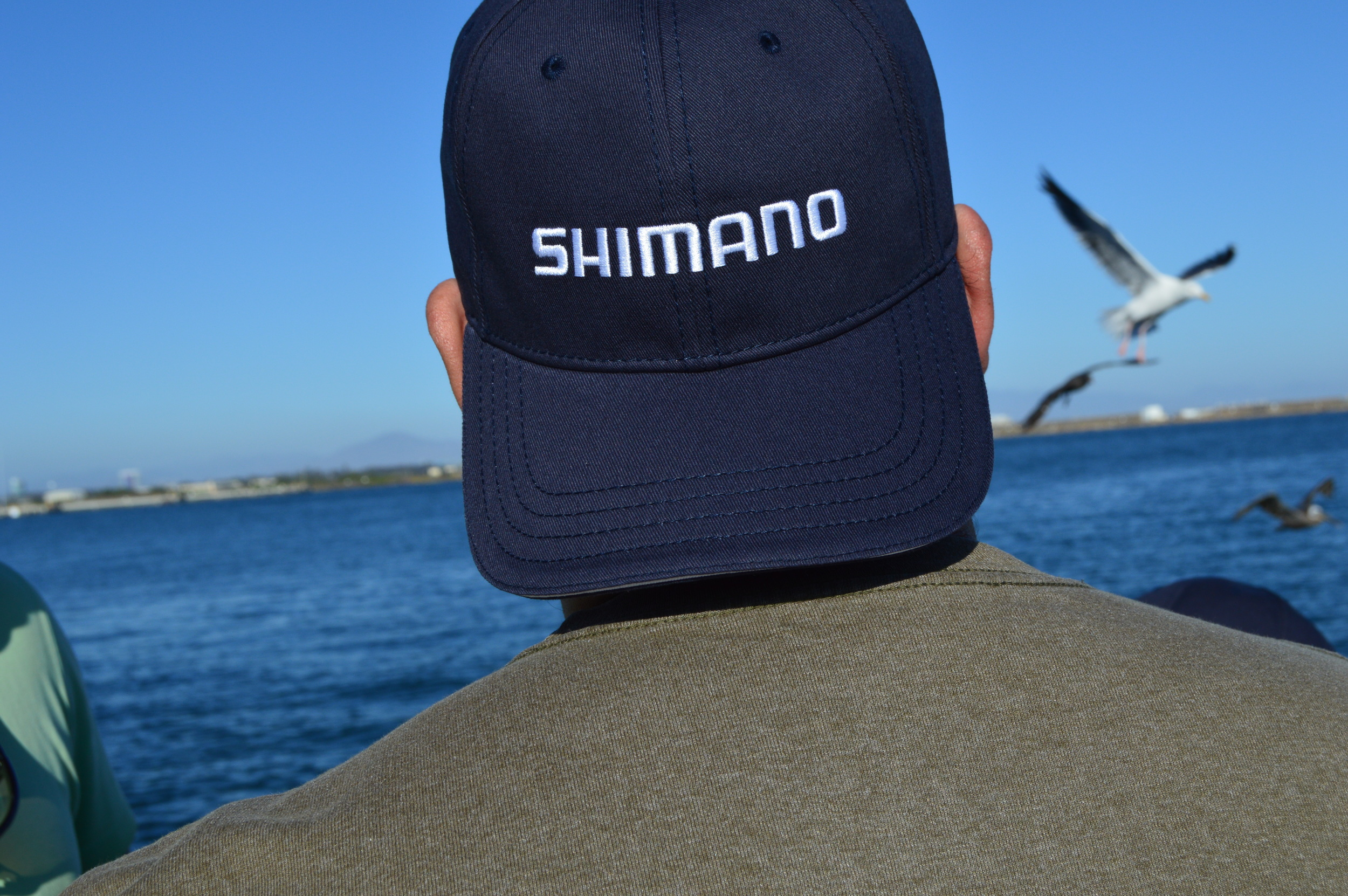 Every angler on the trip received a Shimano hat also!