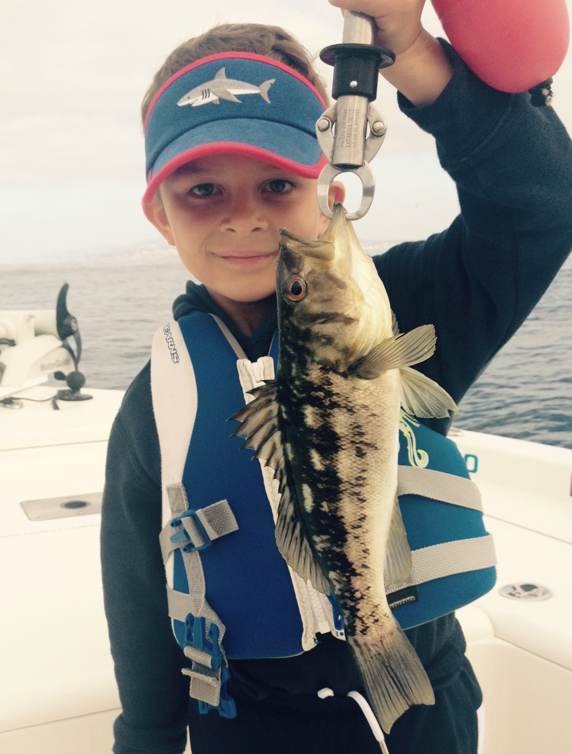 5 year old Mason with a nice PV Calico Bass