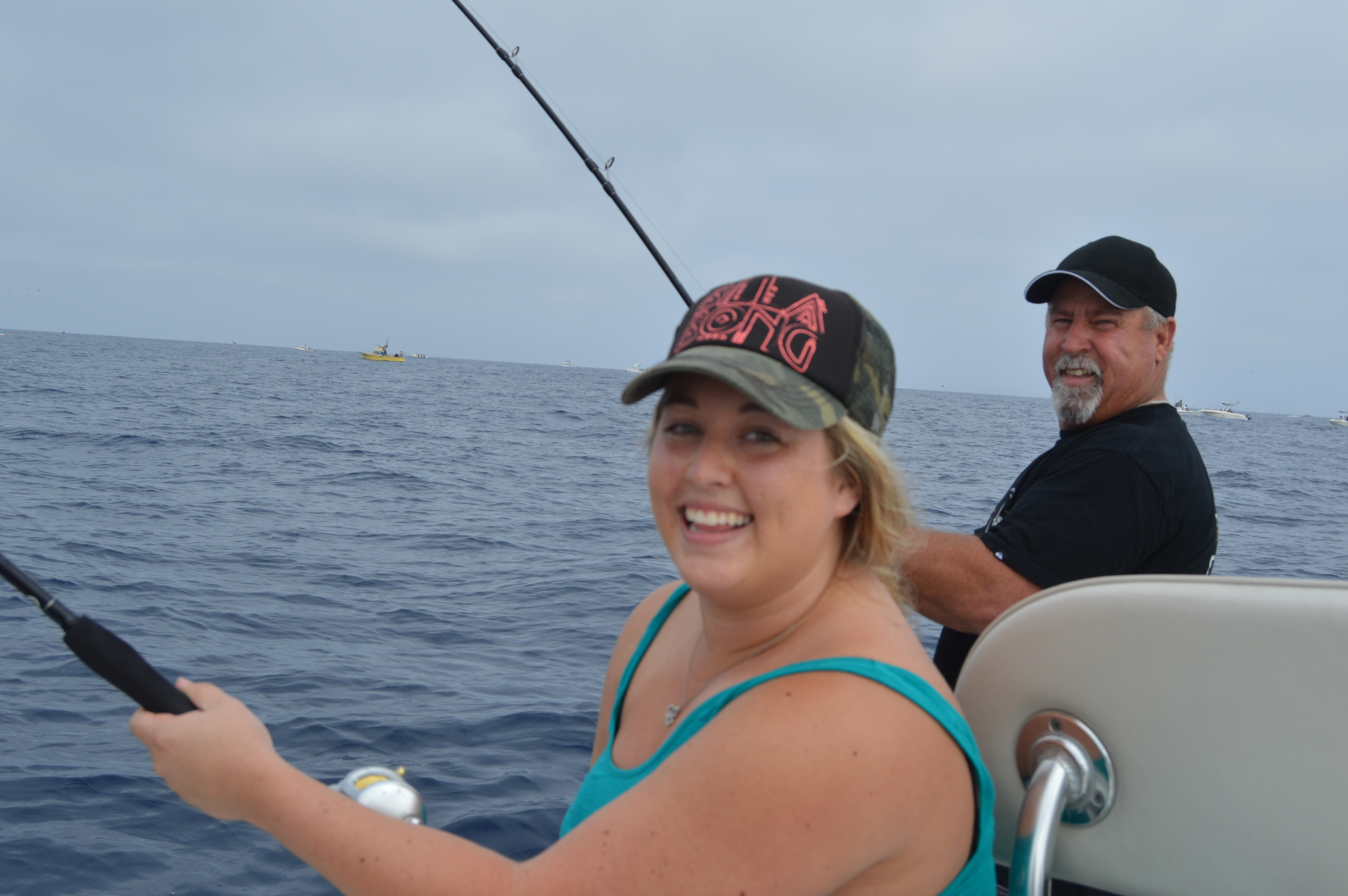 Caitlin and Mike doubled up on local Yellowtail! How special is this!