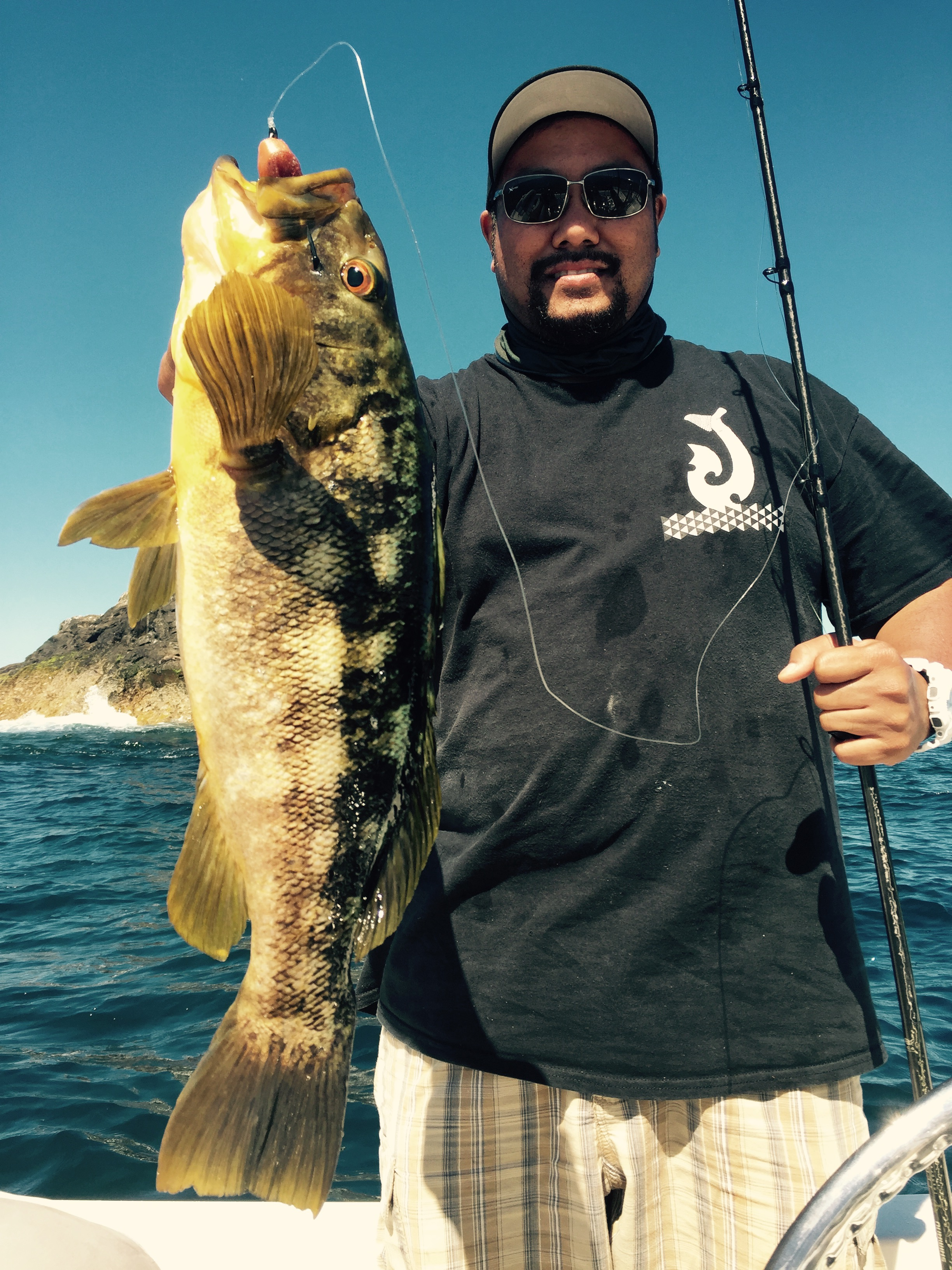 Not only did David get quantity, he got all the quality bass also! Another nice one on the weedless!
