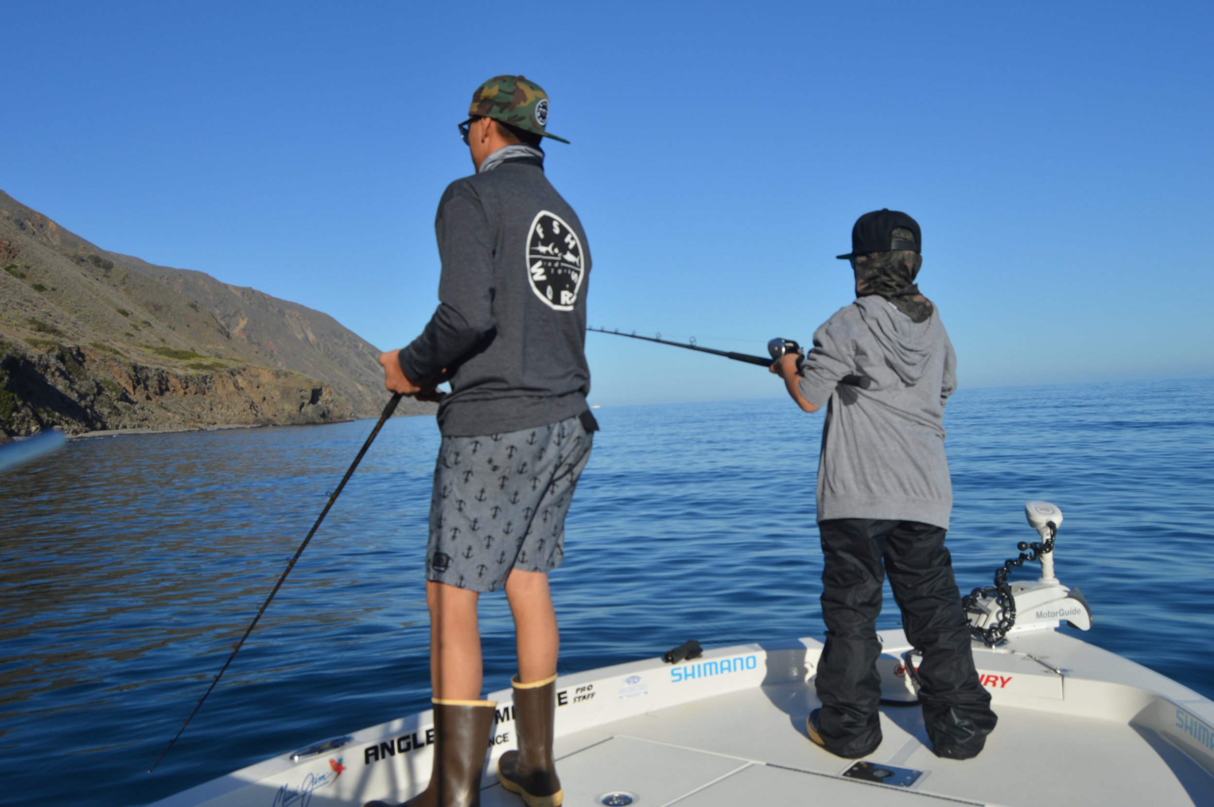Sharing the bow with your son on his birthday! Priceless!