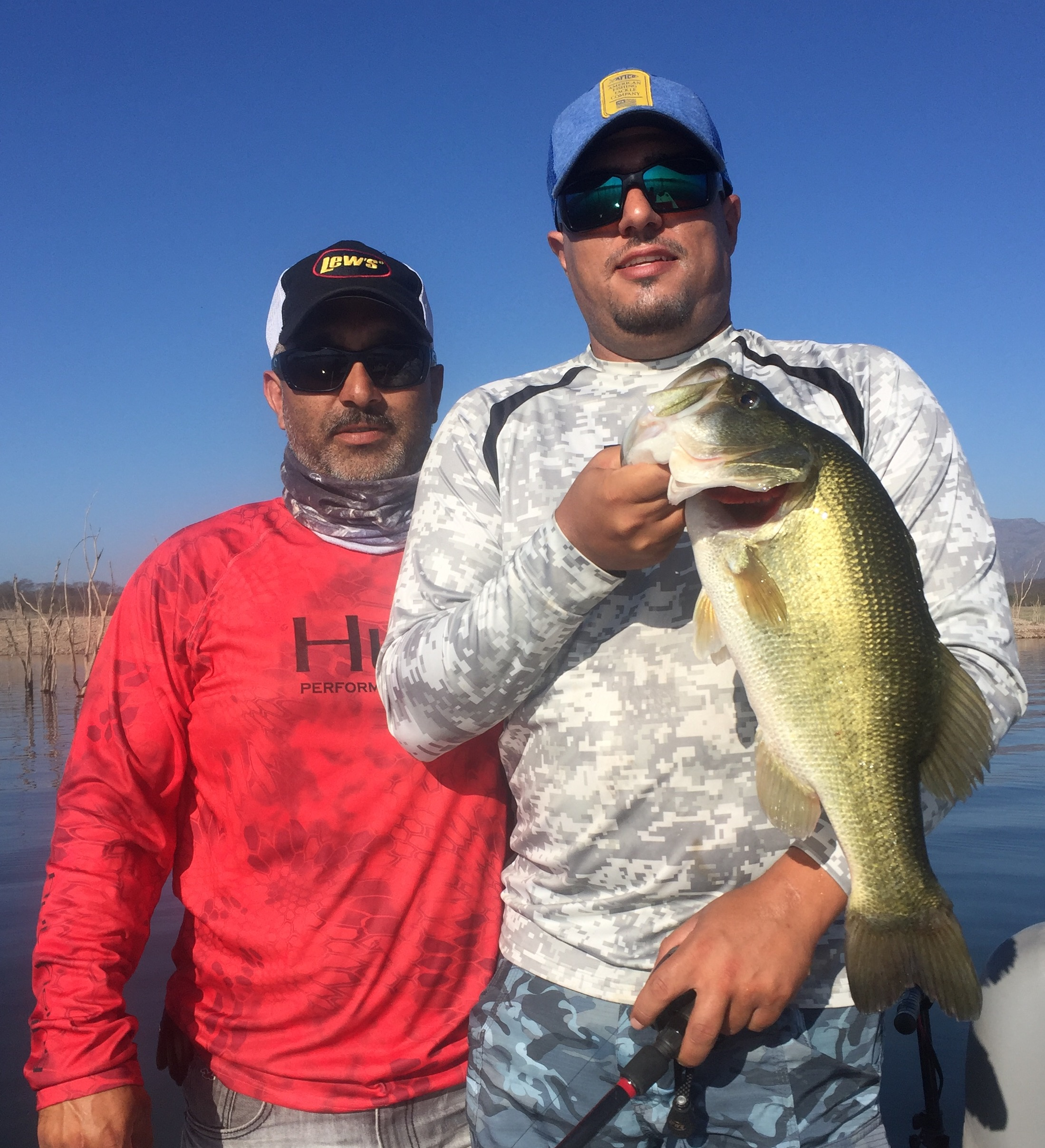 Ali and Eduardo with another LMB!