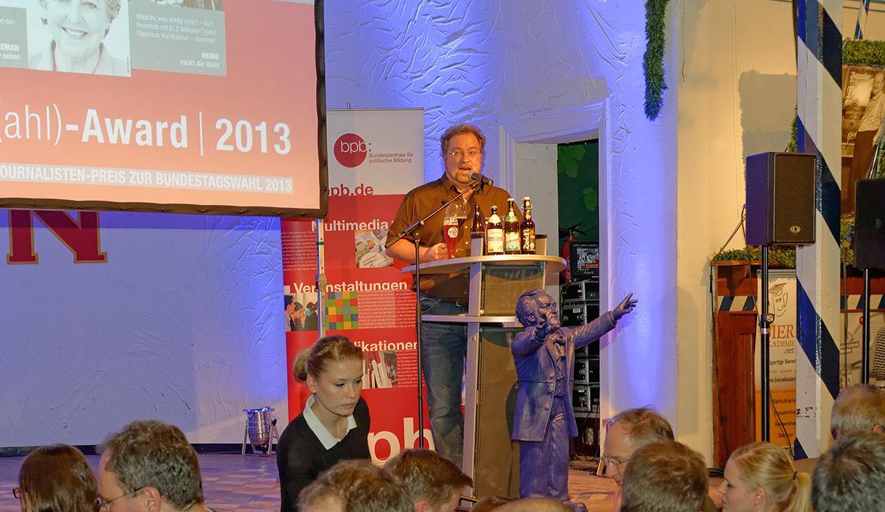 Vortrag vor 250 Fachjournalisten in Bayreuth
