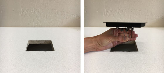 Airelight™ Square Trim Kit In Ceiling Tile