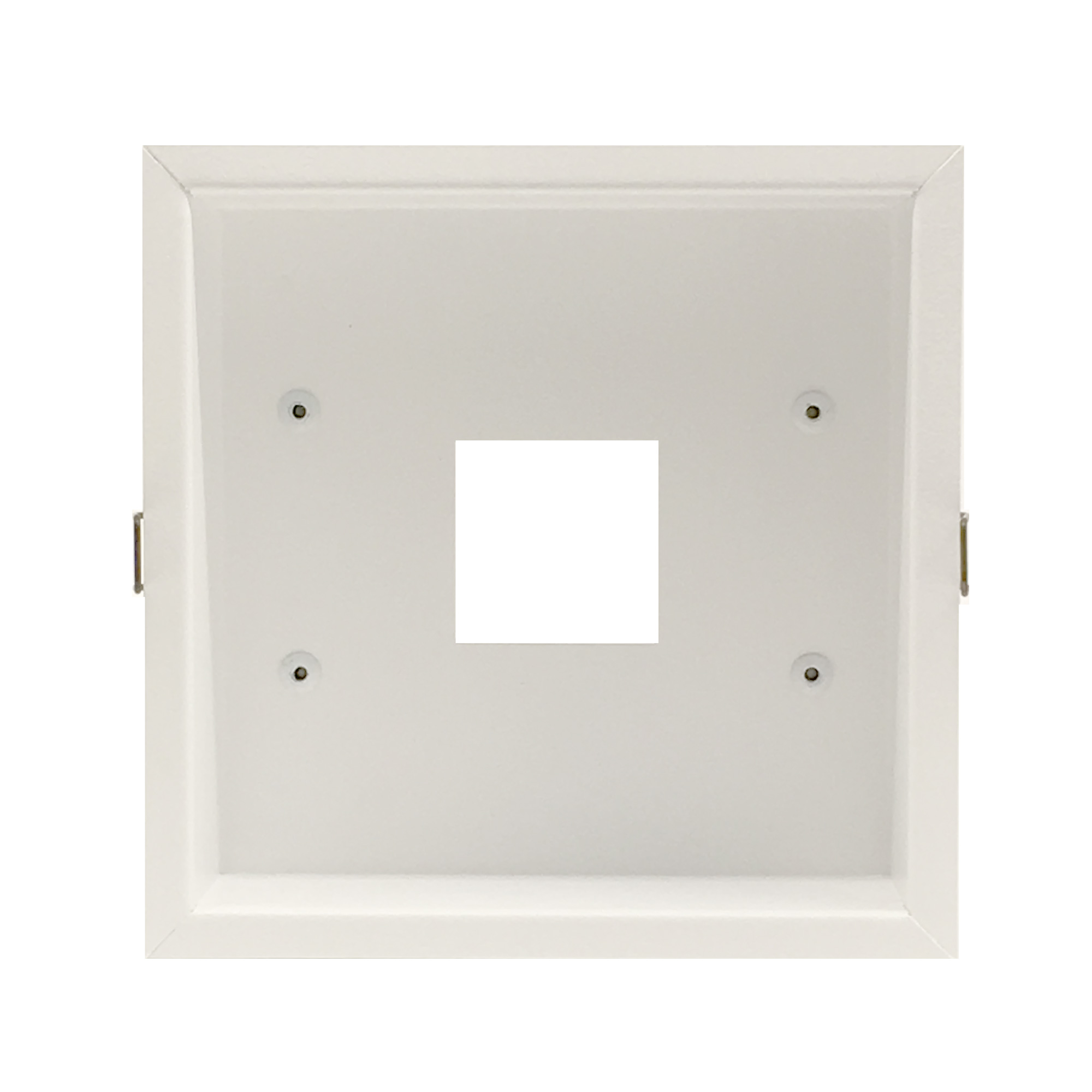 Recessed Trim Kit Airelight Square 4.0  Black -  SKU: 44678  White -  SKU: 49018