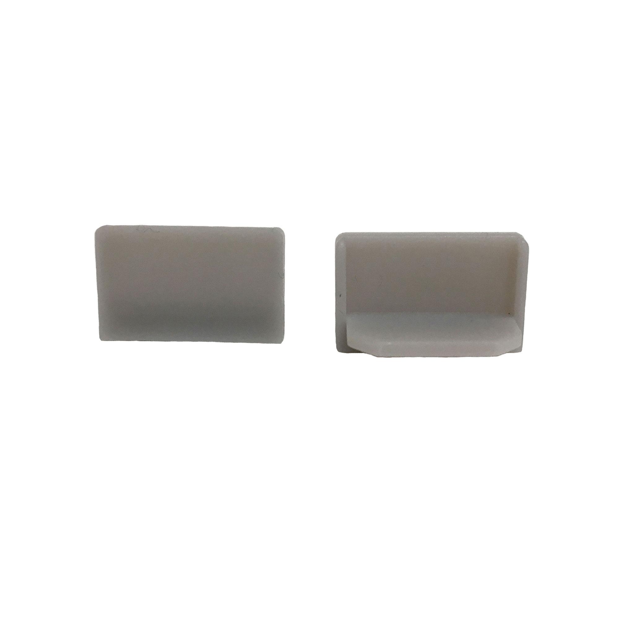 End Cap Snap Channel Airelight ES 0.5 (Light Grey)