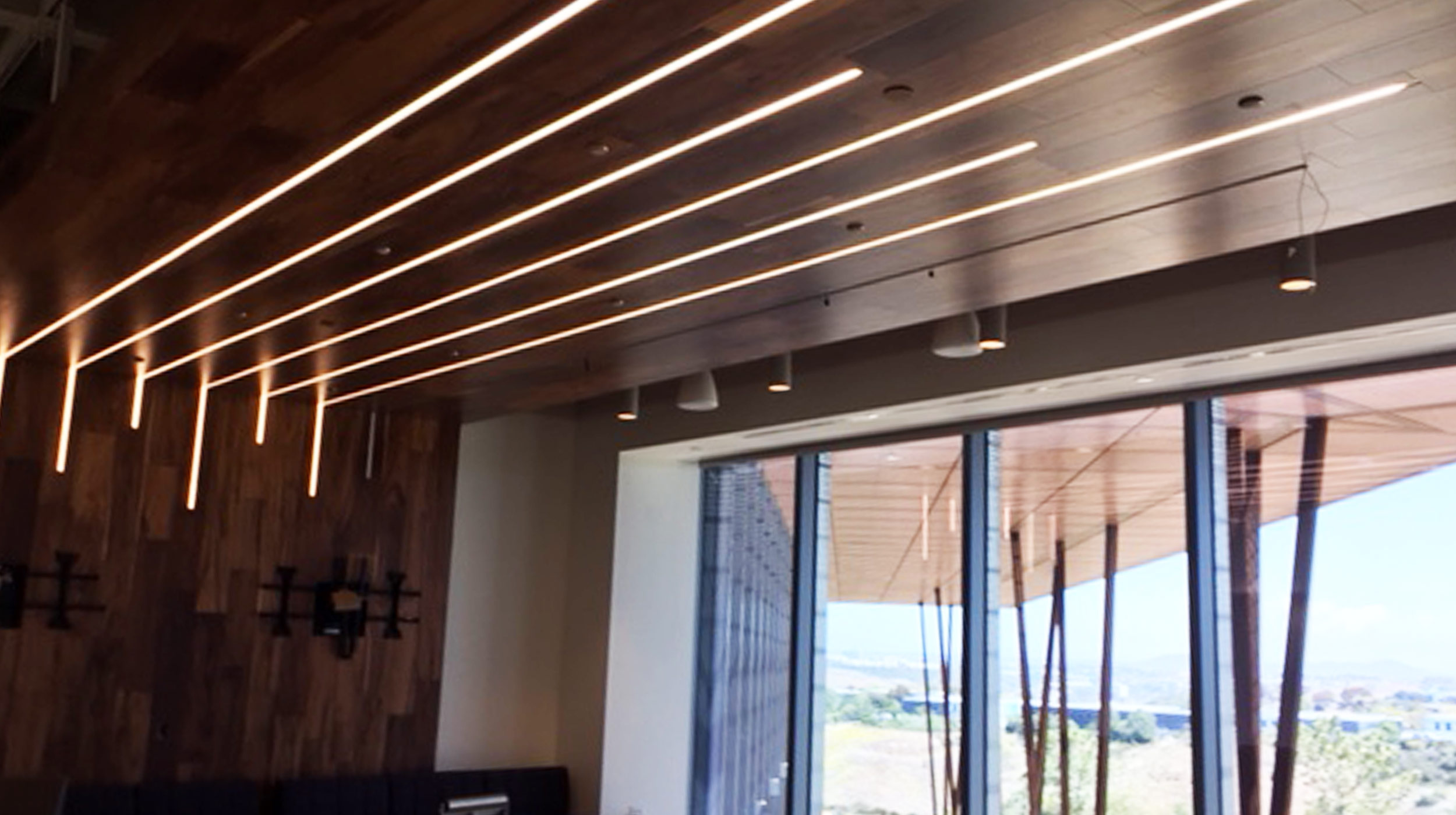 Airelight™ Linear ES 1.0 Installed with Channel and Diffuser