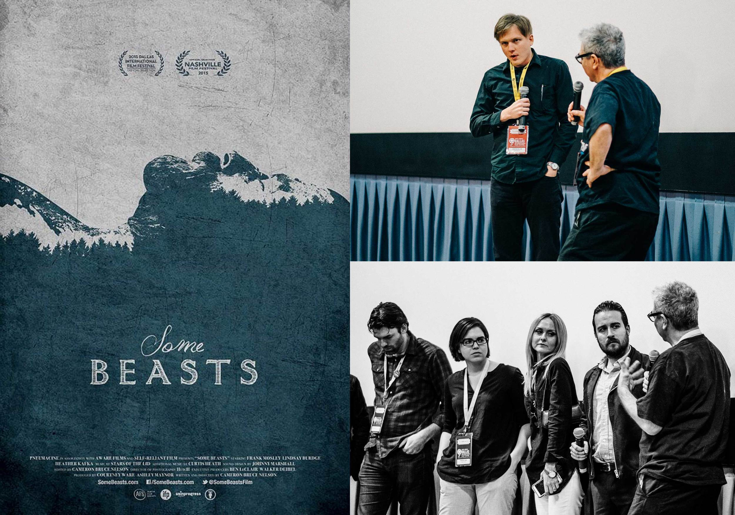 2015 Dallas International Film Festival premiere of SOME BEASTS.