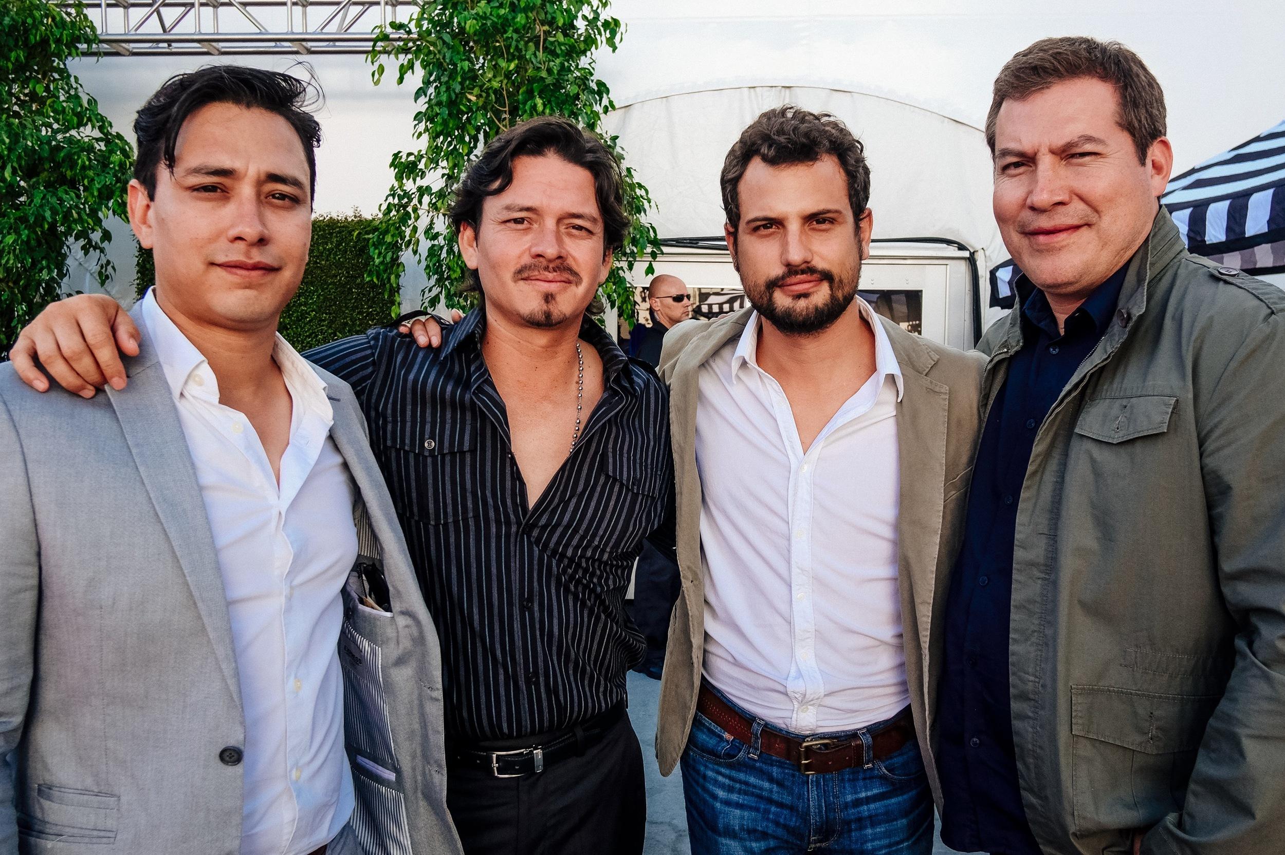 Jaime Jimenez, Jorge A. Jimenez, Roberto Urbina, and Julio César Cedillo.