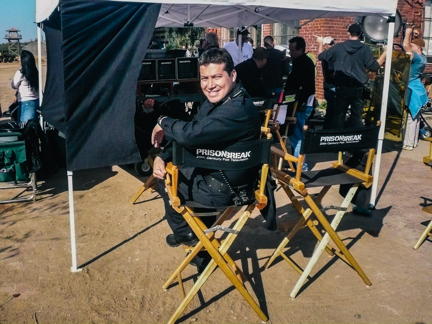 """""""Can't believe this series was shot in Dallas & my hometown of Fort Worth. Lucky for me."""" - Julio César Cedillo"""