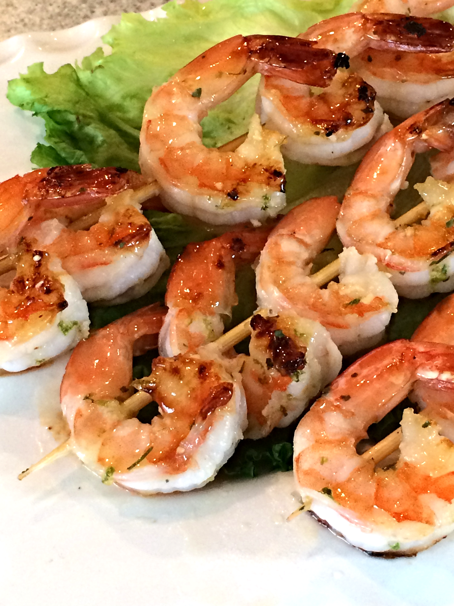 Honey 'n Lime Grilled Shrimp Recipe