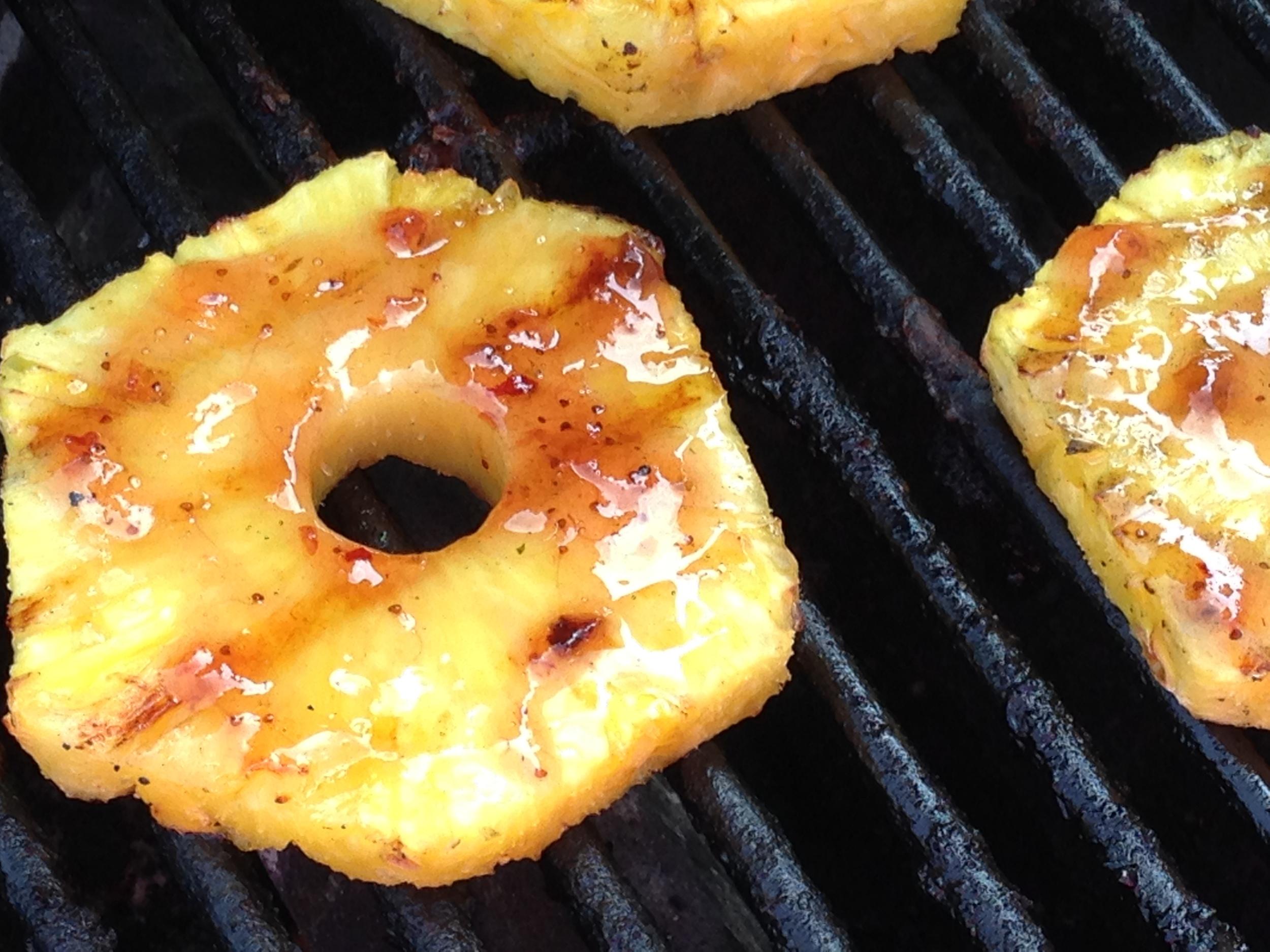 Pepper Jam Grilled Pineapple Recipe