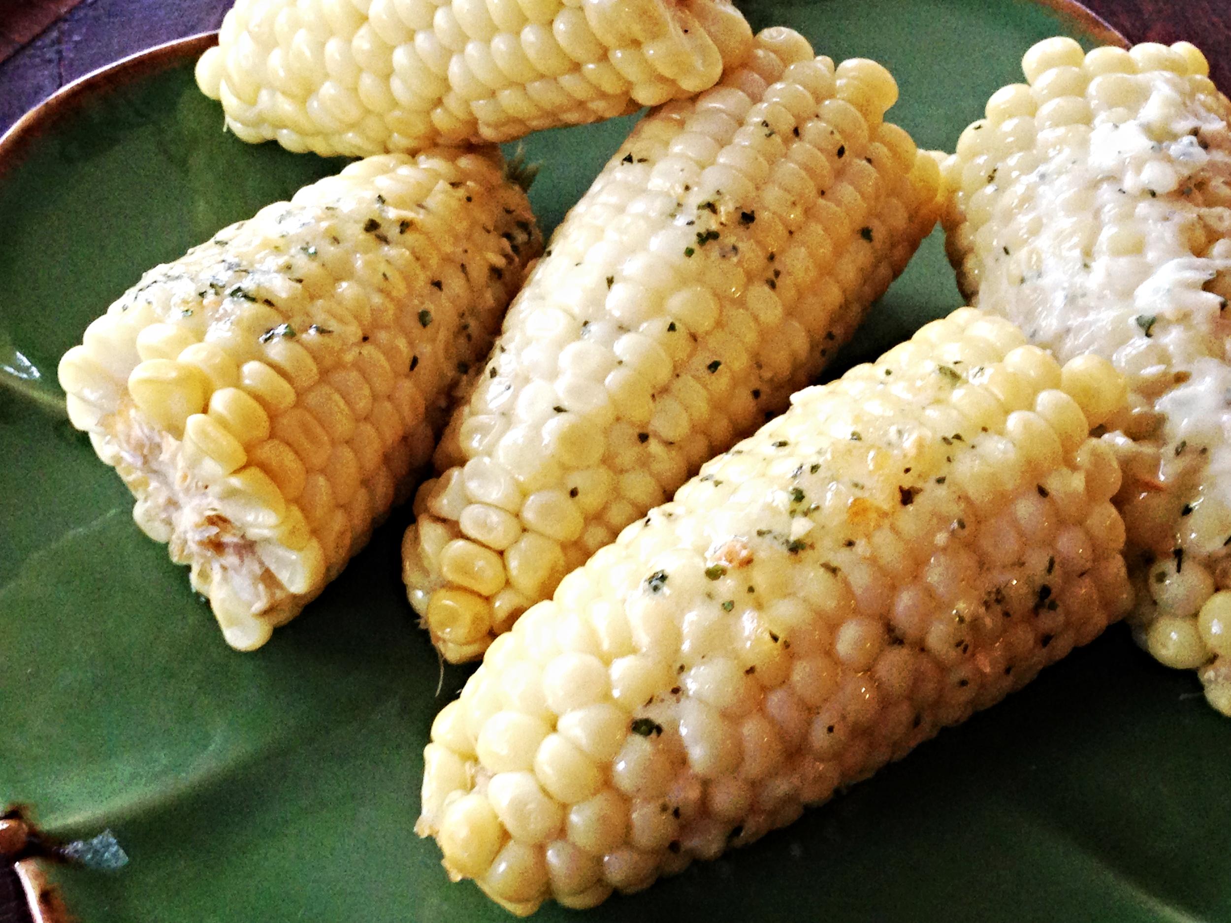 Cilantro Lime Corn on the Cob Recipe
