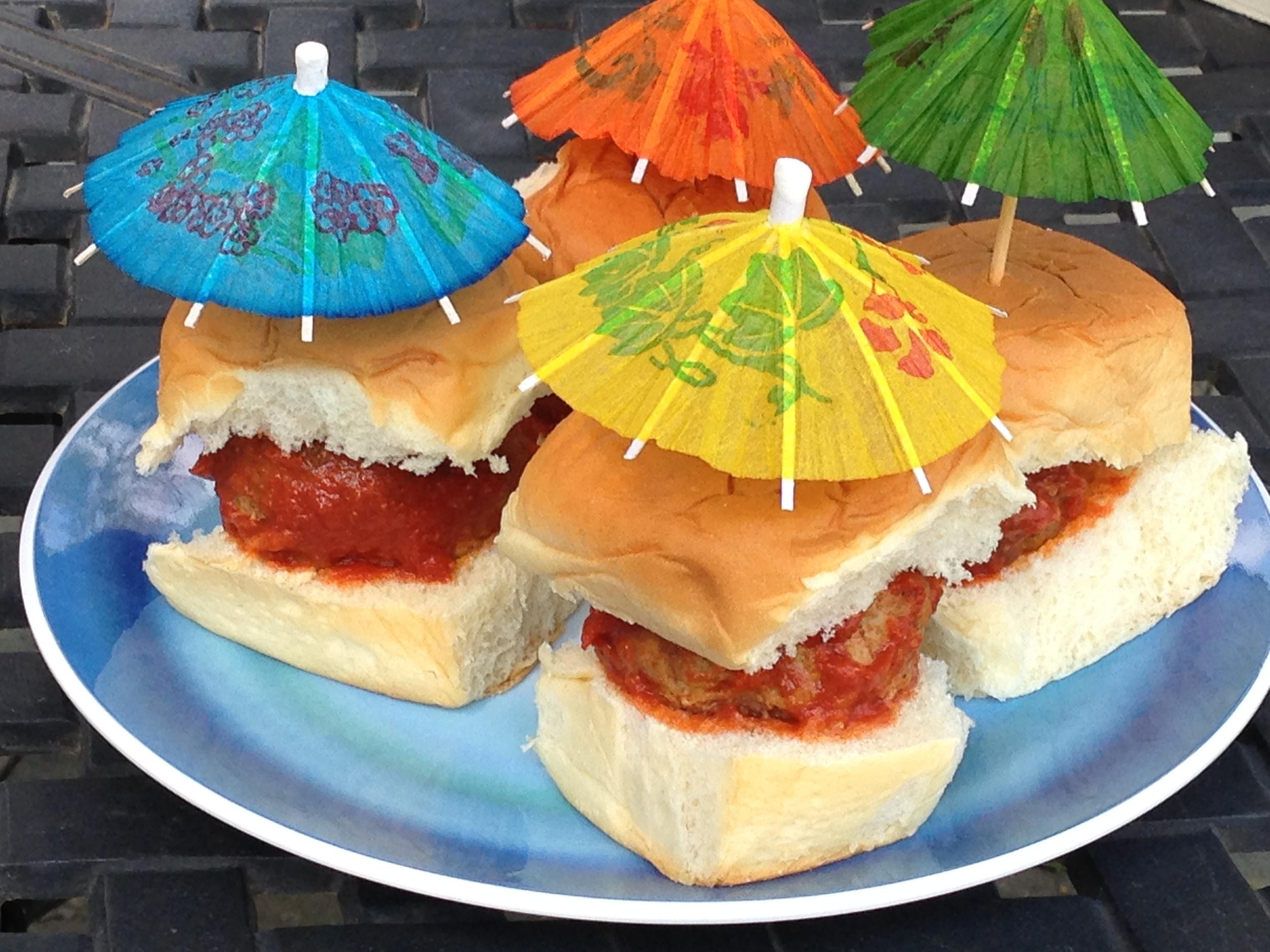 Summer Meatball Sliders Recipe
