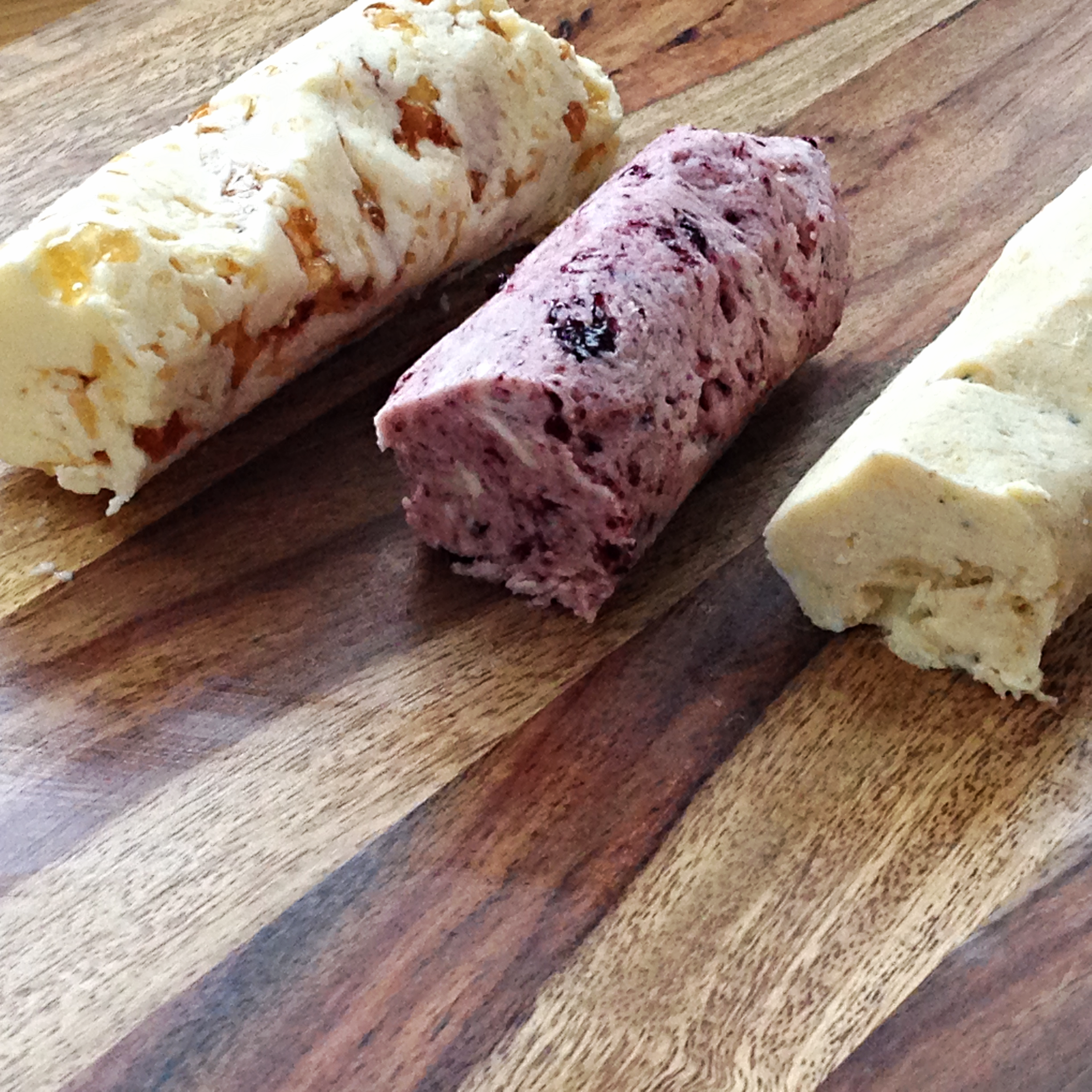 Cooking Tip: How To Make Lemon Raspberry, Blackberry Champagne, and Champagne Garlic Compound Butter