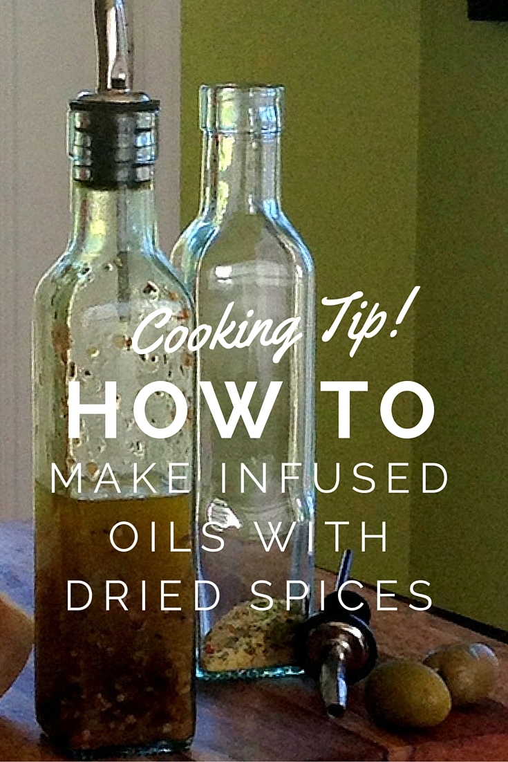 How to Make Infused Cooking Oils at Cherchies.com