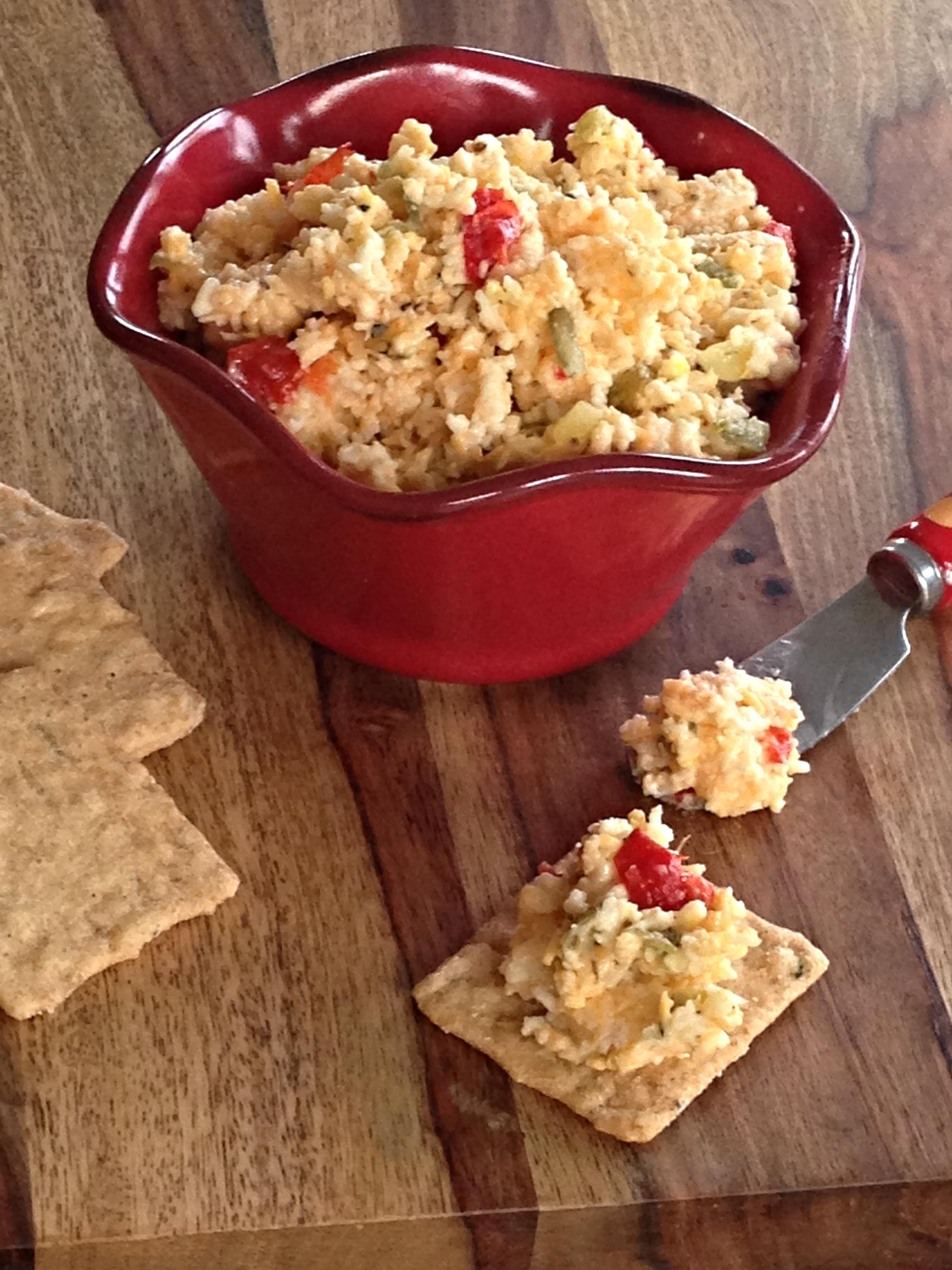 Savory Cheese Spread Recipe