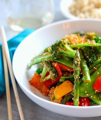 Thai Ginger Vegetable Stir-Fry Recipe