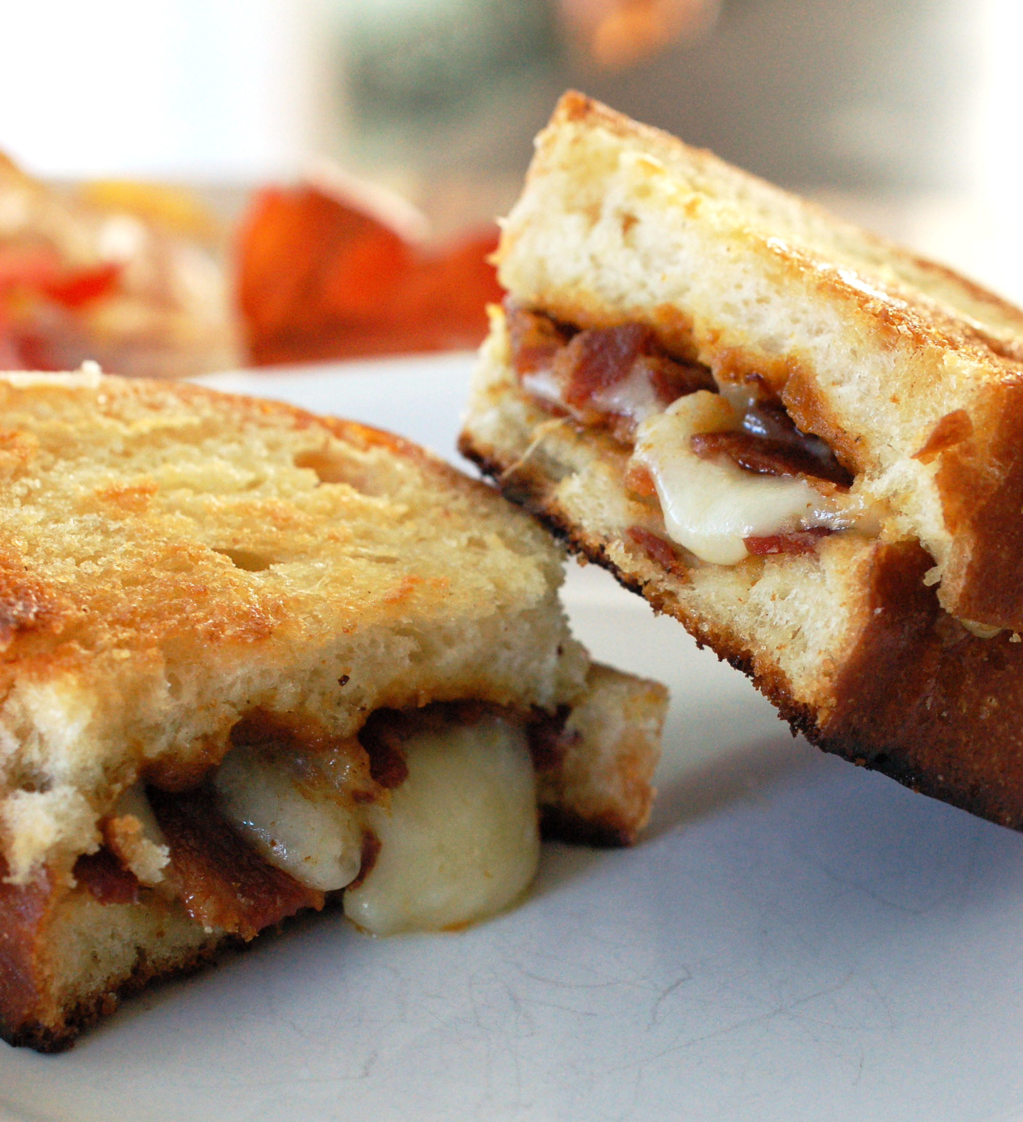 Pumpkin and Bacon Grilled Cheese Sandwich Recipe