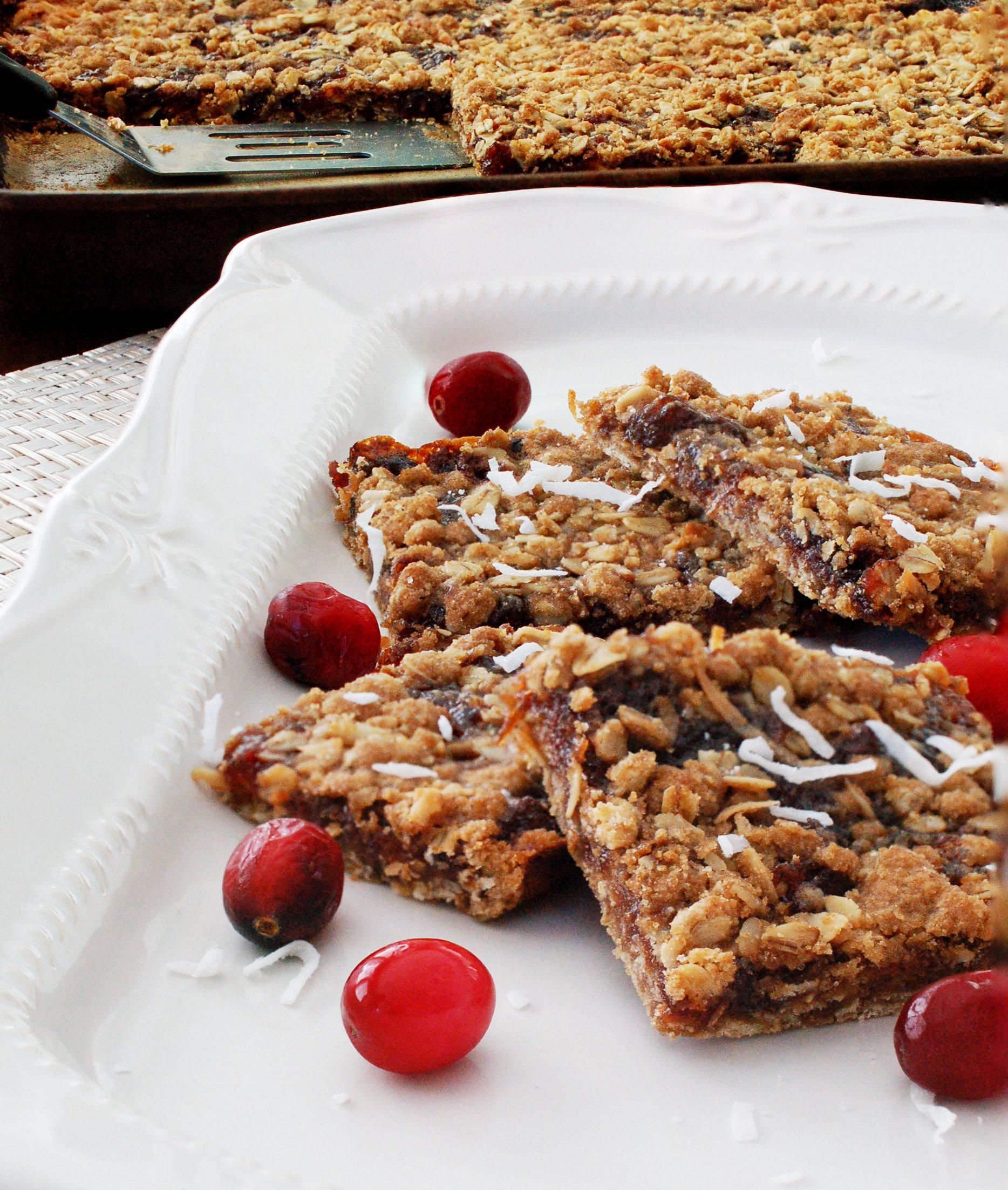Cranberry Coconut Bars Recipe