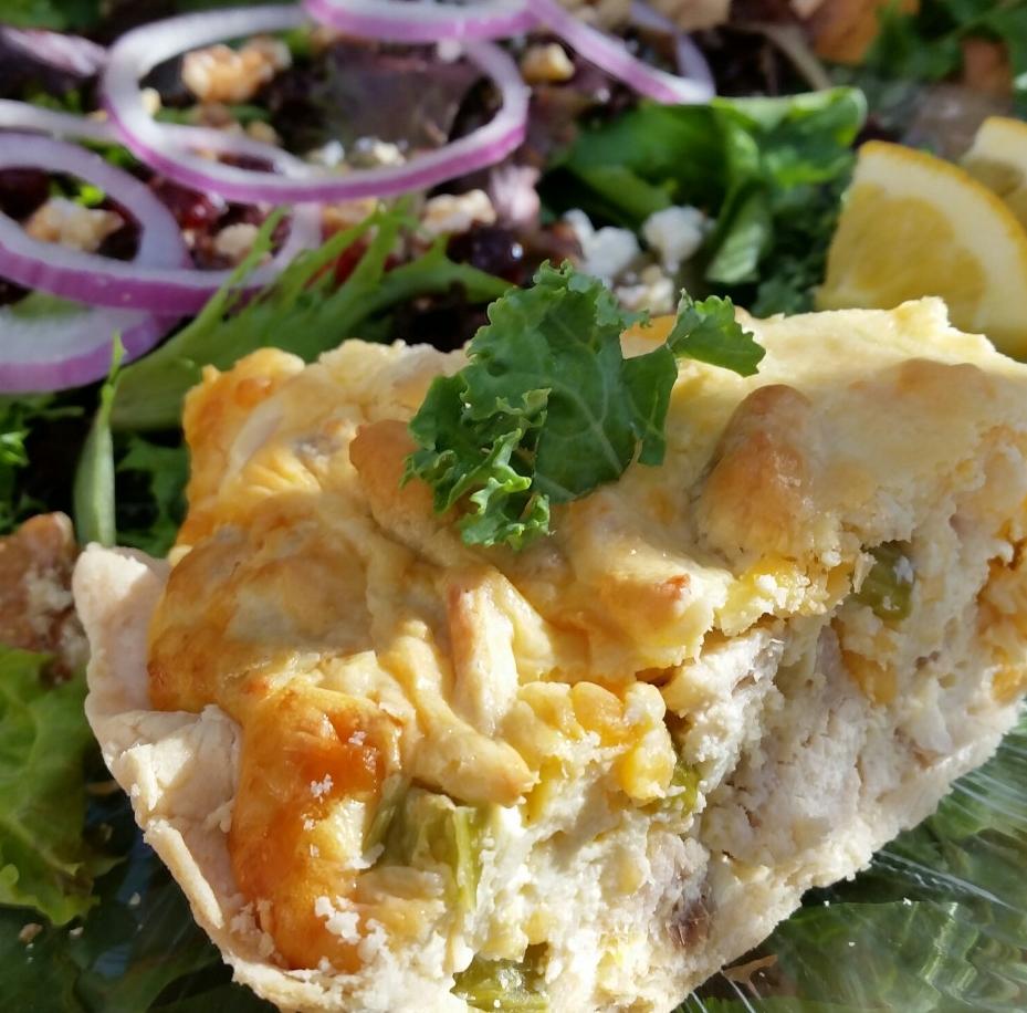 Chicken Salad Pie Recipe