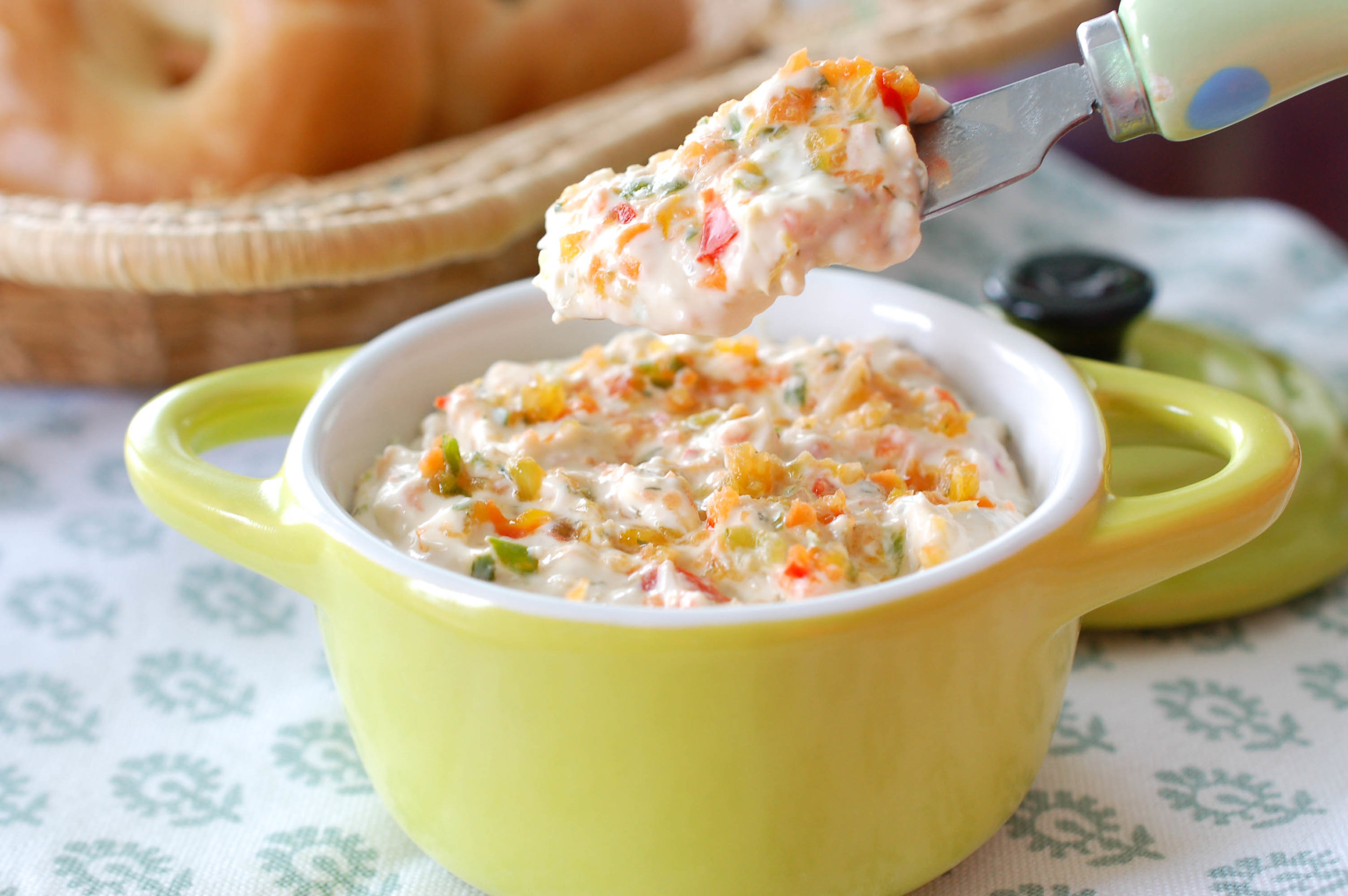 Vegetable Cream Cheese Spread Recipe