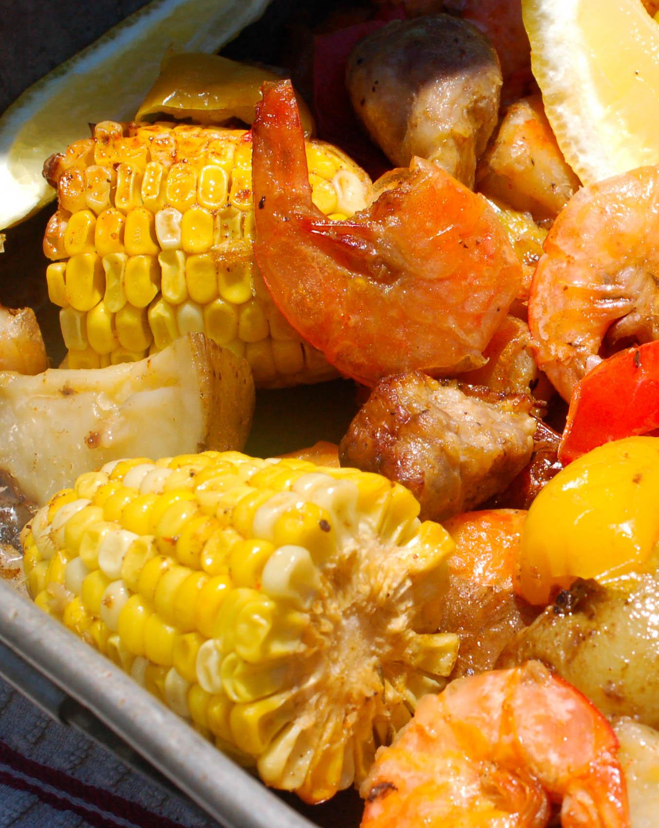 Baked Cajun Shrimp Boil Recipe