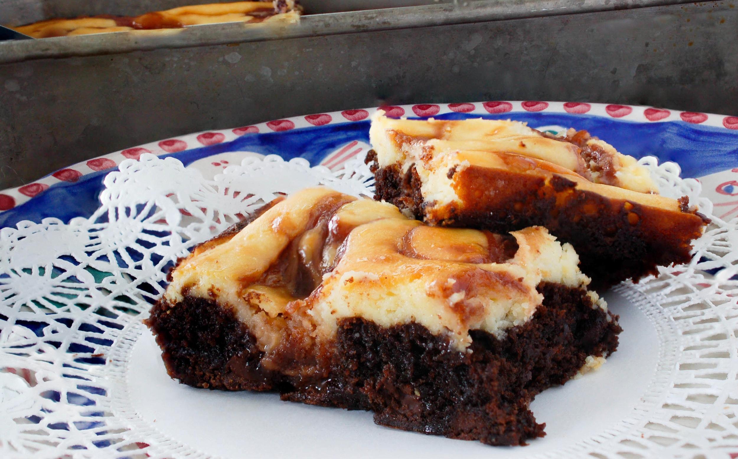 Swirled Cheesecake Brownie Recipe