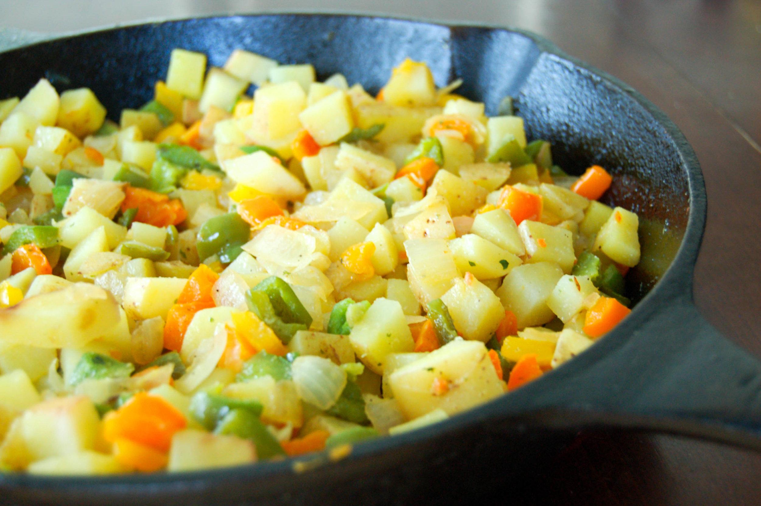 Homemade Potatoes O'Brien Recipe